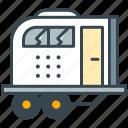 caravan, wagon, travel, holiday, transport, vehicle icon