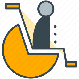 access, disability, disable, disabled, handicap, holiday, wheelchair icon