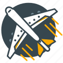 airplane, airport, flight, fly, holiday, plane icon