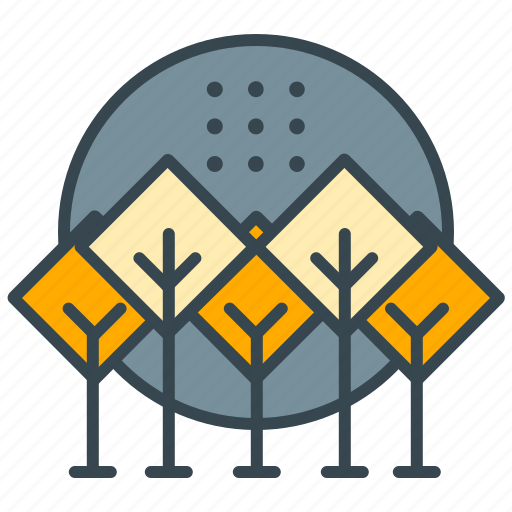 ecology, forest, holiday, nature, park, tree icon