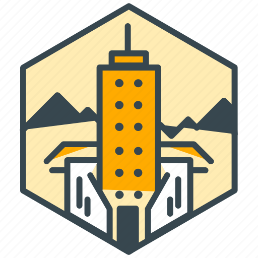 building, holiday, hotel, location, resort icon