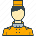 holiday, hotel, person, staff, team, user icon