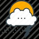 weather, lightening, snow, rain, forecast, holiday, cloud