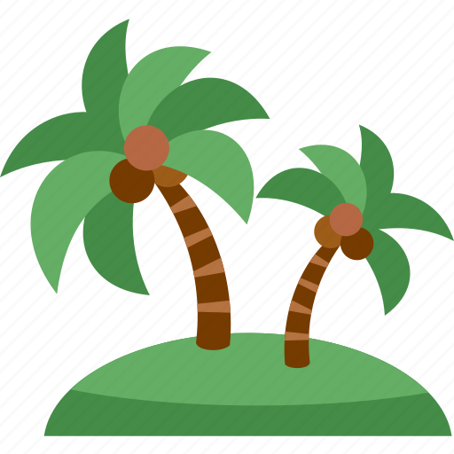beach, coco nut, holiday, sea, summer, travel, vacation icon