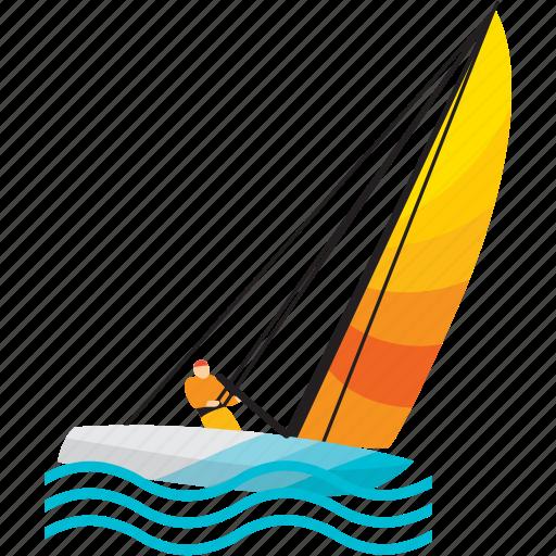 boat, holiday, sea, ship, travel, vacation icon