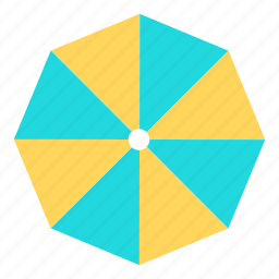 beach, holiday, holidays, travel, umbrella, vacation icon