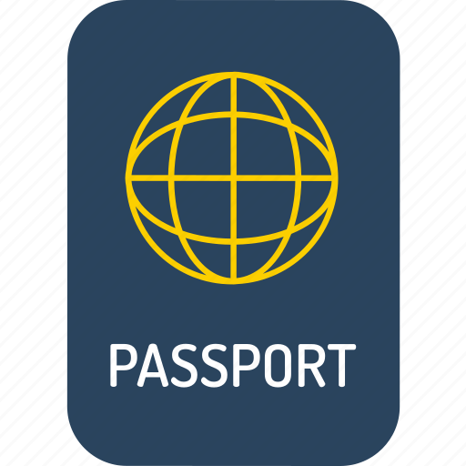 holiday, holidays, passport, traffic, transport, travel, vacation icon