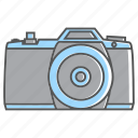 camera, flat camera, holiday, shoot, summer icon