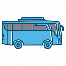 bus, device, drive, holiday, summer icon