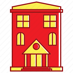 holiday, home, hotel, house, summer icon