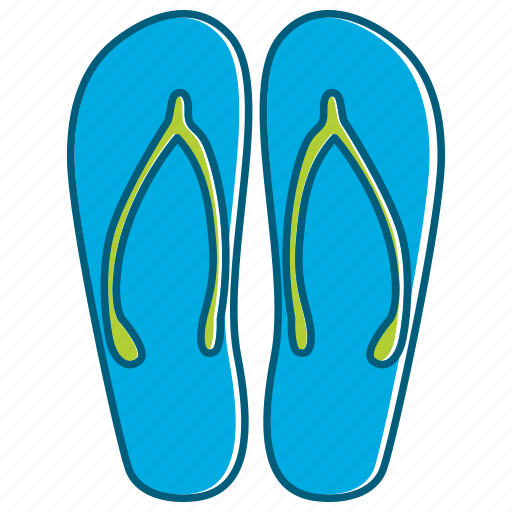 Holiday, sandal, summer, walk icon - Download on Iconfinder