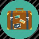 flight, luggage, travel, journey, suitcase, trip