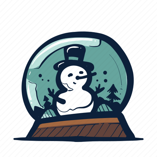 Christmas, holiday, snow, snowglobe, snowman, winter icon - Download on Iconfinder
