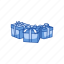 box, christmas gifts, gifts, presents icon