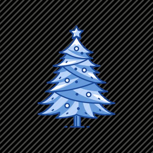christmas, christmas tree, pine tree, tree icon