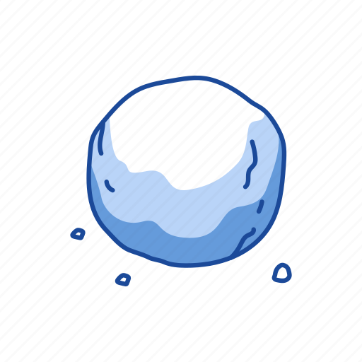 ball, snow, snow ball, winter icon