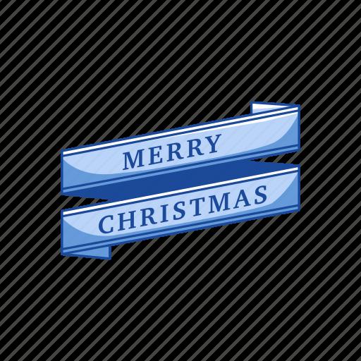 banner, merry christmas, season, season greetings icon