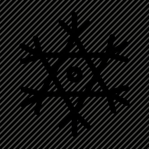 christmas, cold, flake, ice, snow icon