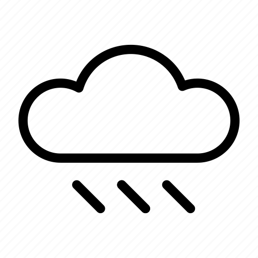 climate, cloud, forecast, rain, weather icon