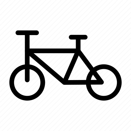 bike, cycle, exercise, ride, travel icon