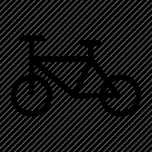 bike, cycle, exercise, ride, travel icon