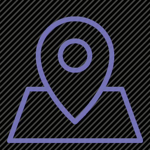 holiday, location, map, pad lock icon