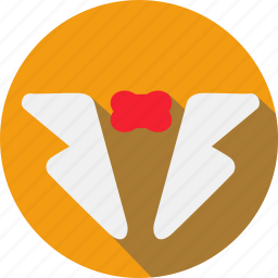 attire, celebration, cocktail, food, masquerade, party, sweets icon