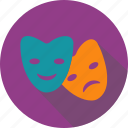 celebration, cocktail, food, mask, masquerade, party, sweets icon