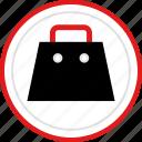 bag, cart, shop icon