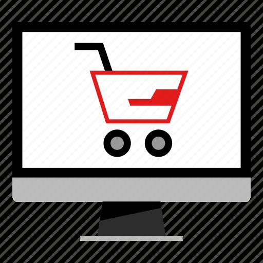 cart, shop, web icon
