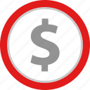 coin, dollar, pay, payment icon