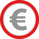 coin, euro, payment, uk icon