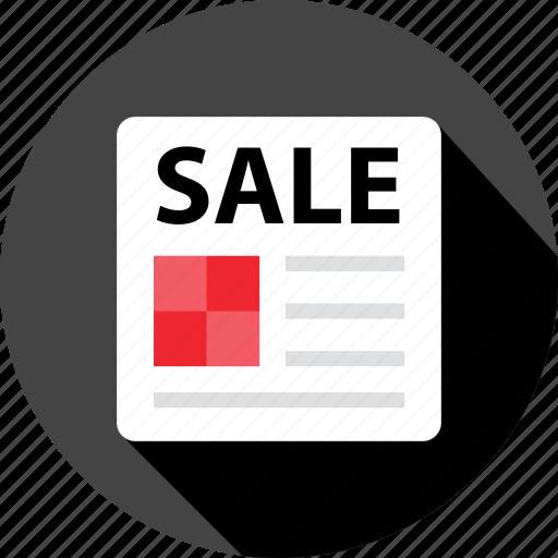 internet, newsletter, open, sale, shop, store icon