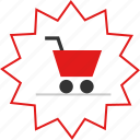 cart, price, shop, tag icon