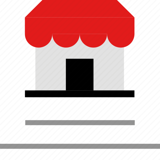 listing, shopping, store icon