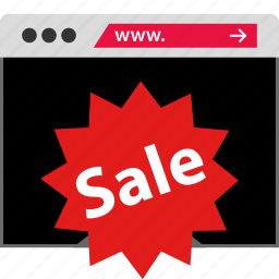 sale, web, www icon