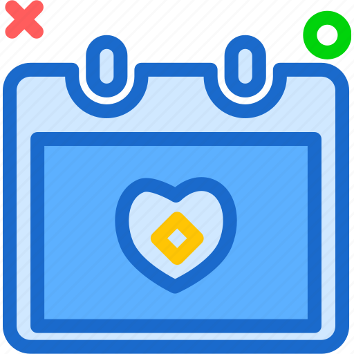 Bound, calendar, christmas, groom, savethedate, wedding, wife icon - Download on Iconfinder