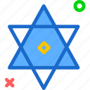 decor, star, jew, tree, israel, david