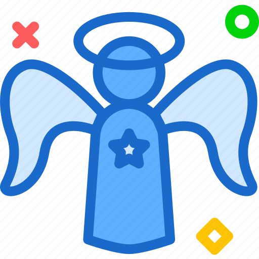 angel, god, holy, religion, word icon