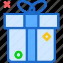 box, christmas, gift, present