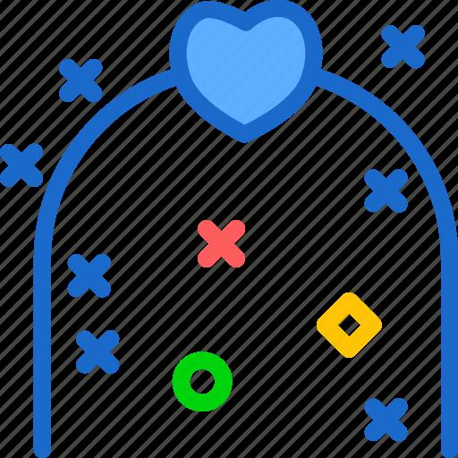 bound, family, gate, groom, husband, wedding, wife icon