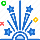 birthday, celebrate, celebration2, fireworks, newyear, party icon