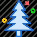 christmas, pine, tree