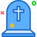 cemetery, dead, grave, grounded, haloween icon