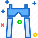 gate, heaven, sky icon