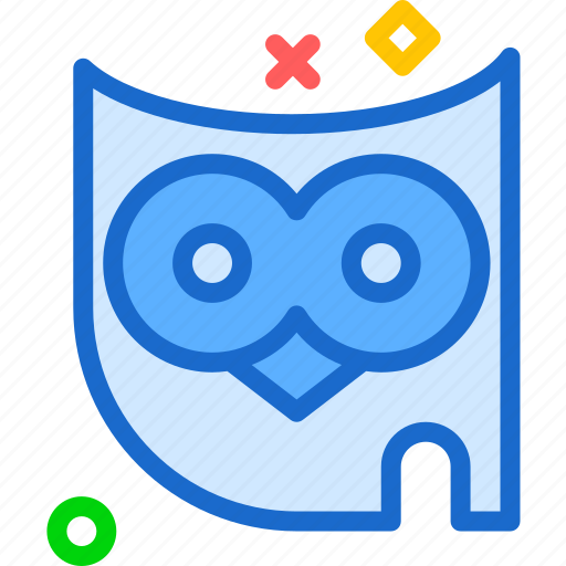 bird, forest, night, owl icon
