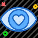blind, eye, inlove, love