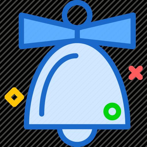 bell, born, christmas, holiday, jesus, ring, sonofgod icon