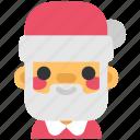 celebration, christmas, holiday, new year, santa, santa claus, xmas icon