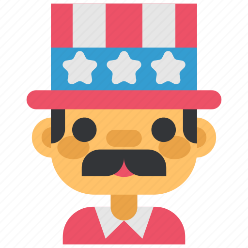 celebration, fourth of july, hat, holiday, party, usa icon